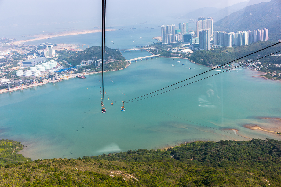 Cable Car View, Hong Kong, Tai Yu San, Harbour, Water