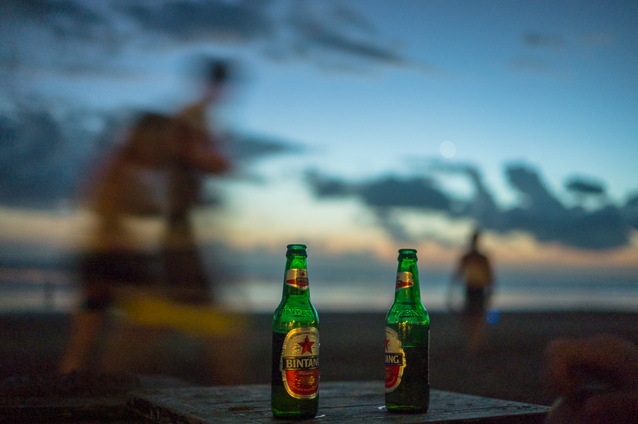 Jamie Chan, Beach, No Foreign Lands, Leica, Bali, Indonesia, Water, Travel, Bintang, beer, alcohol, company